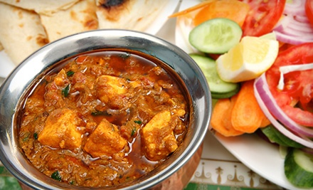 Three-Course Indian Dinner with Wine for Two or Four at Bengal Restaurant (Up to 51% Off)