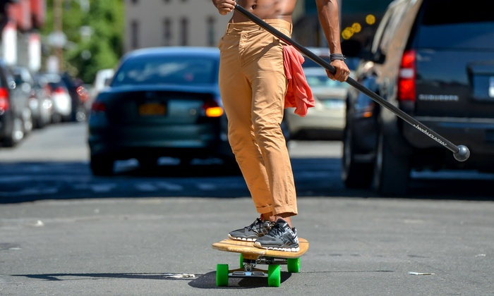 INFighting Shape - Flatiron District: Three or Six Street-Surfing Lessons at INFighting Shape (Up to 57% Off)