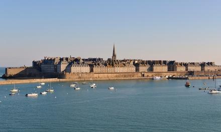 Saint Malo : 1 à 3 nuits en bord de mer avec petit déjeuner buffet à l'hôtel Eden pour 2 personnes