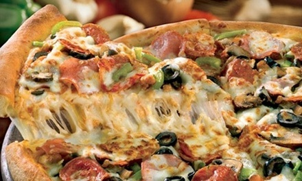 $15 for a Specialty Pizza or Pizza with Up to Five Toppings and a 2-Liter Soda (Up to $27.99 Value)