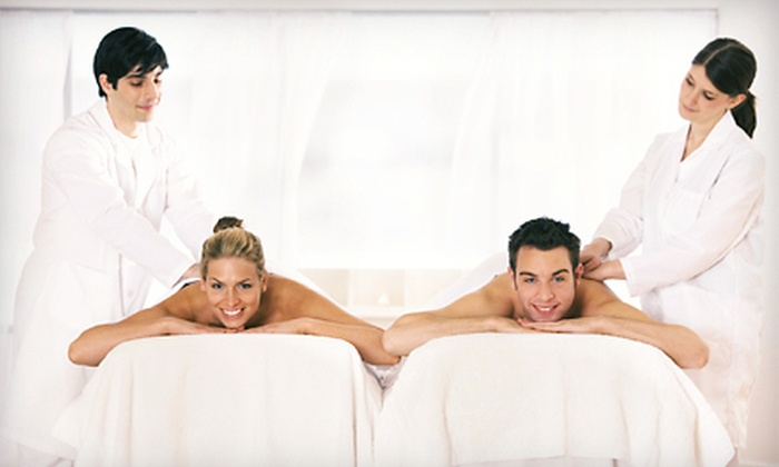 Four Seasons Salon & Spa - Dulles Town Center Mall: Refresh & Renew Spa Package or Couples Romance Package at Four Seasons Salon & Spa (Up to 54% Off)