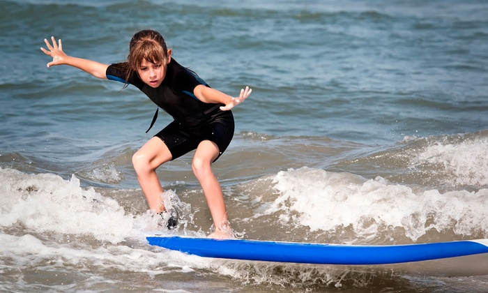 Perfect Day Surf Camp - Multiple Locations: One or Two Days of Kids' Surf Camp from Perfect Day Surf Camp (Up to 38%Off)