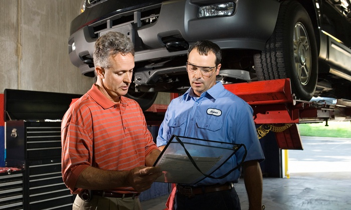 Wilcox & Son Automotive - South Orange: $35 for Oil Change, Tire Rotation, and Vehicle Inspection at Wilcox & Son Automotive ($69 Value)