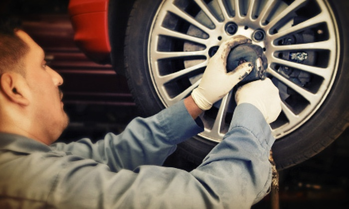 TireVan - Loudoun Tech Center: $50 for $100 Worth of Mobile Brake-Repair Services or Tires from TireVan