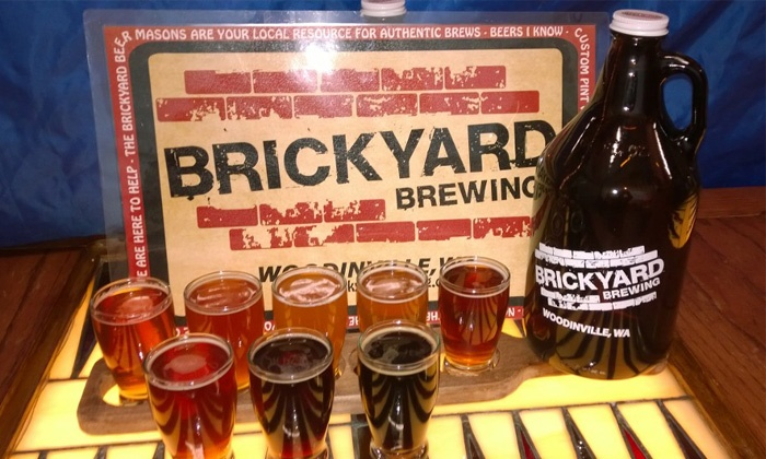 Brickyard Brewing - Grace: Beer Flights and Growler Fills for One, Two, or Four at Brickyard Brewing (Up to 53% Off)