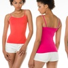 Ladies Seamless Assorted Color Camisoles (12-Pack)