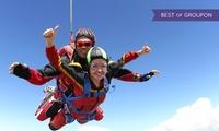 Saut en parachute en tandem, avec remise dun diplôme à lissue du saut, à 188 € au club Cerps Gap-Tallard