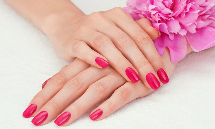 Eliza Jane - St. Charles: Two Perfect 10 Manicures or Two Shellac No-Chip Manicures at Eliza Jane (Up to 52% Off)