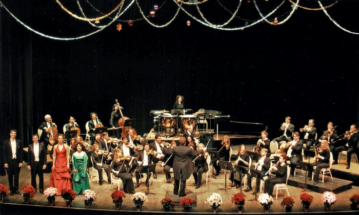 The Hollywood Concert Orchestra: A Viennese Christmas - Newberry Opera House: The Hollywood Concert Orchestra: A Viennese Christmas at Newberry Opera House on December 10 (Up to 44% Off)