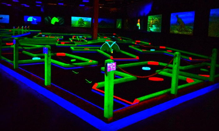 Lunar Mini Golf New - Kansas City: Mini Golf for Two or Four at Lunar Mini Golf (Up to 50% Off)