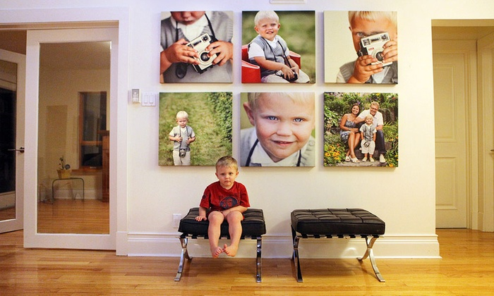 CanvasJet.com: Personalized Canvas Photo Print with Choice of Formats and Sizes from CanvasJet.com (Up to 52% Off)