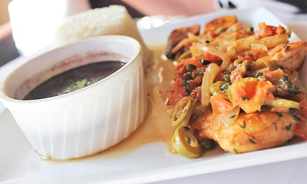 Cuban Dinner Cuisine at La Bella Havana (Up to 51% Off). Two Options Available.