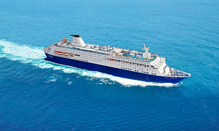 Bahamas Paradise Cruise Line - West Palm Beach to Bahamas: 2-Night Bahamas Cruise for Two in Interior or Ocean-View Cabin from Bahamas Paradise Cruise Line (Up to 50% Off)