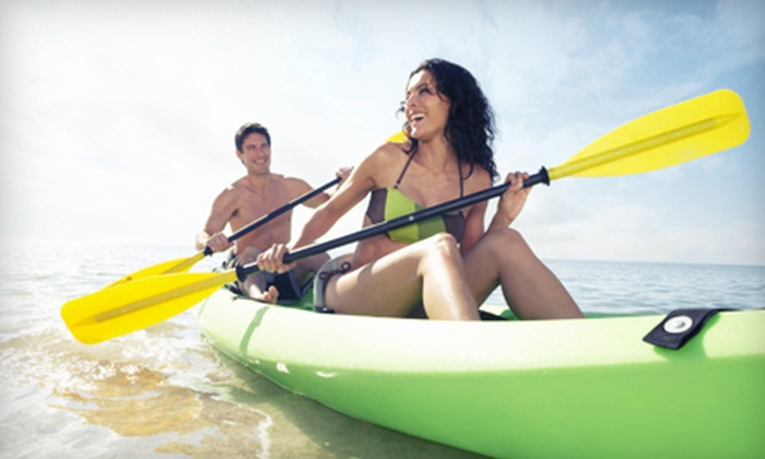 Malibu Surf Shack - Malibu: Rental of a Single or Double Kayak or a Standup Paddleboard from Malibu Surf Shack (Up to 51% Off)
