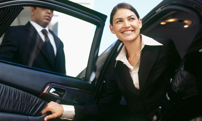 Boston LIMO Company - Boston: One-Way or Round-Trip Rides to Logan or Manchester Airport from Boston LIMO Company (Up to 52% Off)