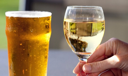 Tasting Admission for Two to the Motor Row Craft Beer & Wine Festival on September 5 or 6 (35% Off)