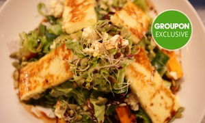 The Mediterranean: Weekend Mediterranean Brunch or Lunch for Two ($22) or Four People ($42) at The Mediterranean (Up to $76 Value)