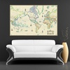 Up to 73% Off Canvas Giclee Wall Maps