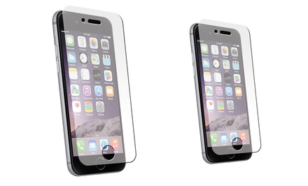 Pro Tech Tempered Glass Screen Protector for Apple iPhone 6, 6+, 5/5s/5c, or 4/4s