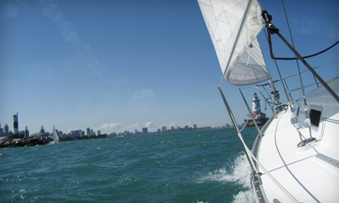 Seabreeze Charter - Central Chicago: Two-Hour Sailing Trip for Up to Six from Seabreeze Charter (Half Off). Weekday and Weekend Options Available.