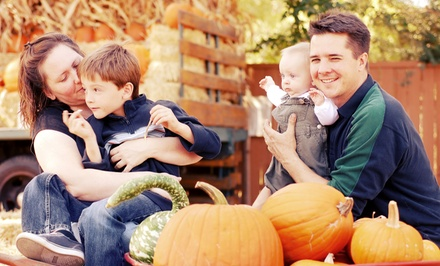 Fall Visit for Two, Four, or Six at Pettit Creek Farms (Up to 47% Off)