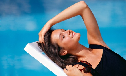 UV-Bed or Norvell Spray Tans at Lavenders Nail & Tanning Studio. Five Options Available.
