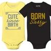 Kidteez Infant Quirky Saying Bodysuit
