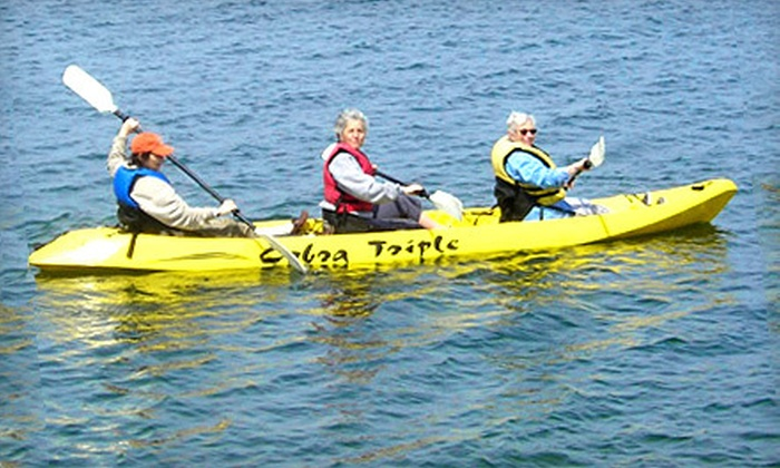 Amagansett Beach & Bicycle Company - Amagansett: Kayak or Paddleboard Tour for One or Two, or an Equipment Rental from Amagansett Beach & Bicycle Company (up to 71% Off)