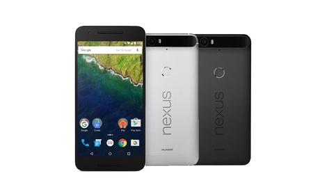 Huawei Nexus 6P ricondizionati disponibili argento e grigio con 2 anni di...