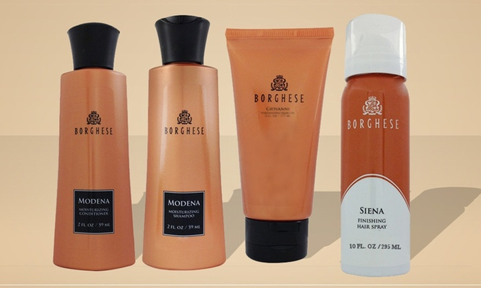 Best of Borghese 4-Piece Haircare Set: Best of Borghese 4-Piece Haircare Set