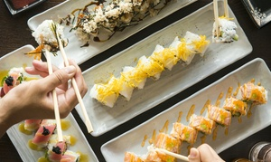 Aikuma Sushii: $50 or $100 to Spend on Japanese Food at Aikuma Sushii