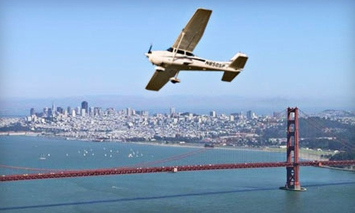 Advanced Flyers - Palo Alto: Flight Simulation for Two with Optional 35-Minute Flight over the Bay Area for One at Advanced Flyers (Up to 70% Off)