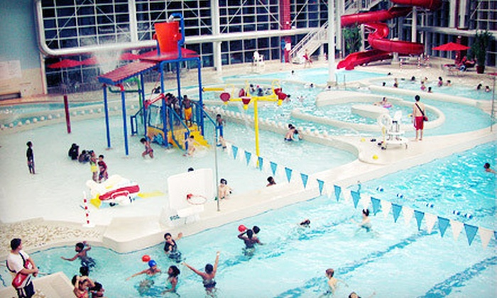 Romulus Athletic Center - Romulus: All-Day Athletic-Center and Waterpark Passes for Two or Four to Romulus Athletic Center (Half Off)