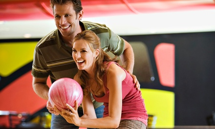 Up to 64% off Two Hours of Bowling for Up to Six Plus Shoe Rental, Pizza, and Soda