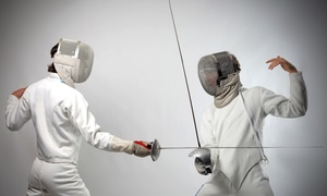Cheyenne Fencing and Modern Pentathlon Center: Fencing Classes at Cheyenne Fencing and Modern Pentathlon Center (Up to 47% Off). Four Options Available.