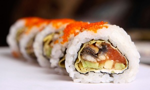 Fujiyama: Sushi Dinner for Two or Four with Appetizers, Special Rolls, and Hand Rolls at Fujiyama (54% Off)