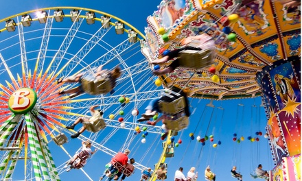 $20 for Admission and Unlimited Rides for Two with Parking at Freedom Fest State Fair NJ ($30 Value)