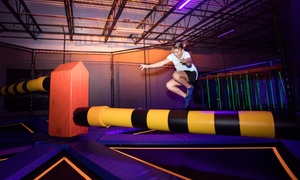 Up to 53% Off Jump Around Entries  at Helium Trampoline & Indoor Adventure Park, plus 6.0% Cash Back from Ebates.