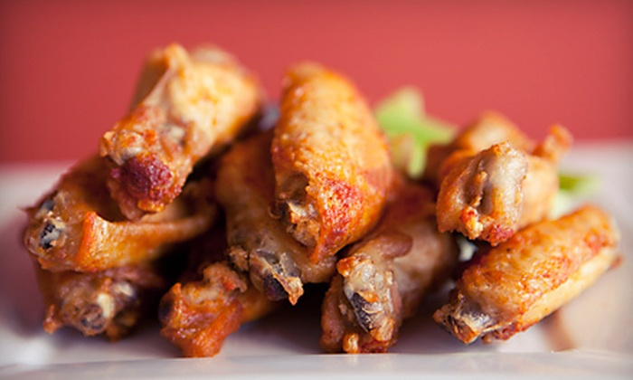 Buffalo Bill's Hot Wings To-Go - Baker: Wings and American Food at Buffalo Bill's Hot Wings To-Go (Half Off). Two Options Available.