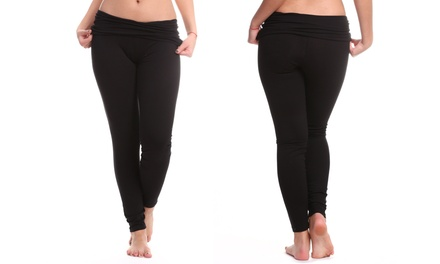 2-Pack of Black Yoga Pants