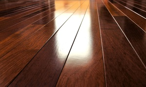 Mel's Flooring Refinishing: $99 for 200 Square Feet of Hardwood Floor Refinishing from Mel's Flooring Refinishing ($200 Value)