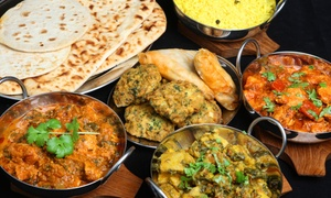 India Palace: Indian Dinner or Takeout at India Palace (Up to Half Off). Three Options Available.
