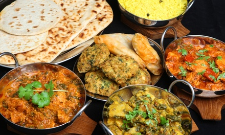 Indian Dinner or Takeout at India Palace (Up to Half Off). Three Options Available.