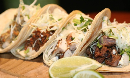 $12 for $20 Worth of Mexican Cuisine at Nashville Street Tacos