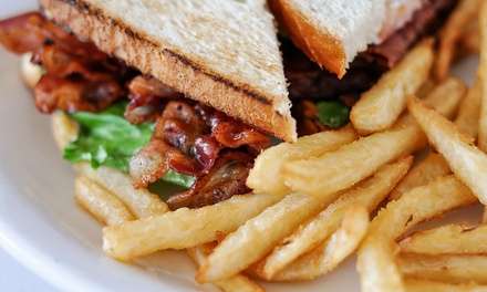 $11 for $20 Worth of Pub Food and Sandwiches at River City Saloon