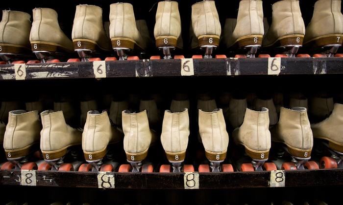 Car-Vel Skate Center - Leon Valley: Roller-Skating Package for Two or Four at Car-Vel Skate Center (Up to 57% Off)