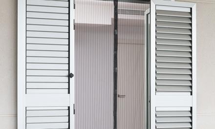 Hasta 4 mosquiteras para puerta InnovaGoods con cierre magnético