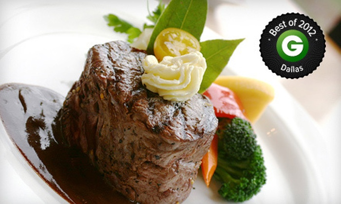 Jaxx Steakhouse - Midway Square: Steakhouse Dinner Fare at Jaxx Steakhouse in Addison (Half Off). Two Options Available.