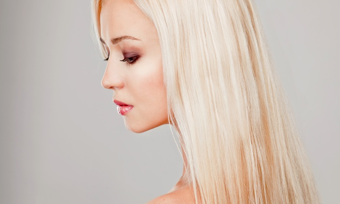 Vanity Beauty Bar & Boutique - Downtown: Blow-Out and Trim, Keratin Treatment, or $80 Toward Clothing and Accessories at Vanity Beauty Bar & Boutique (Half Off)