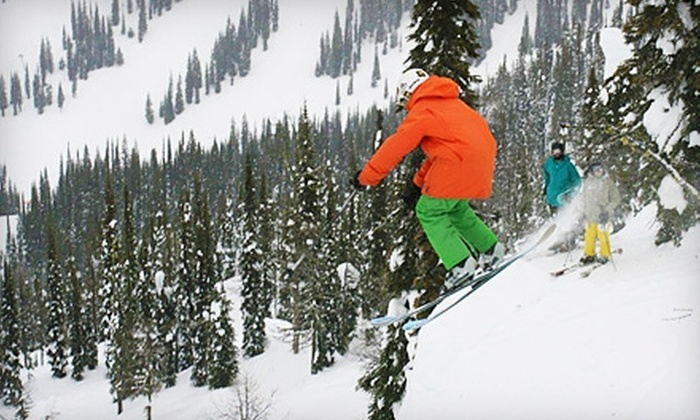 Mountain Gear - Logan: Ski or Snowboard Wax or Tune-Up at Mountain Gear (Up to 53% Off)